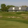 A view of the 18th hole at Shepherds Crook Golf Course