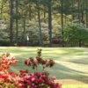A view of a hole at Woodside Plantation Country Club