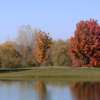 A fall view from A. H. Blank Golf Course