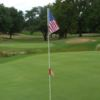 A view from a green at Urbandale Golf & Country Club