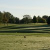 A view from a tee at Executive from Jester Park Golf Club