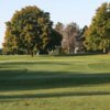 A view of a green at Executive from Jester Park Golf Club