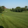 A view of the 10th fairway at River Valley Golf Course