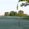A view of a hole at Harvester Golf Club