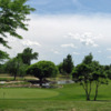 View of a green at Rocky Ford Golf Course