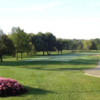 A sunny day view from Itasca Country Club