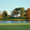 A view over the water from Colonial Pines Golf Club