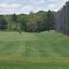 A view of a fairway at Minnechaug Golf Course