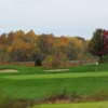A view of the 15th green at Acorns Golf Links
