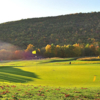 A sunny view from Highlands Golf Club at Fisher Mountain