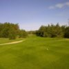 A view from tee #16 at Northern Dunes Golf Club
