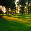 A sunny view of a fairway st Burford Golf Links