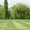 A view of the 16th green at Lakeside Golf Course