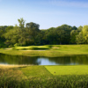 A view from a tee at Olympia Fields Country Club