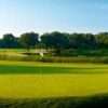 A view of a green at Olympia Fields Country Club
