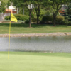 A view of a hole at Walnut Greens Golf Course