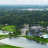 Aerial view from Cress Creek Country Club