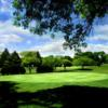 A view of a green at Libertyville Golf Course