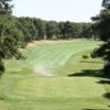 A view from a tee at Dennis Pines Golf Course