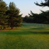 A view of a fairway at Country Club of Maryland