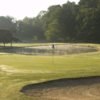A view of a hole with water coming into play at Westminster National Golf Course