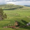 A view of a tee at Elkhorn Ridge Golf Course