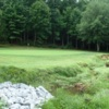 A view of the 5th green at Mitchell's Golf Complex