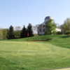 A view of a green at River Downs Golf Club