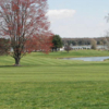A view of a fairway at Chester River Yacht & Country Club