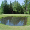 A view of green #3 at Wildwood Lakes Golf Course
