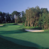 A view from the left side of fairway #16 at Fox Run Country Club