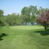 A view of the 4th green at Roseville Cedarholm Golf Course