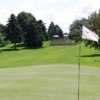 A view from a green at Roseville Cedarholm Golf Course
