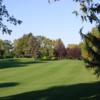 A view of a fairway at Roseville Cedarholm Golf Course