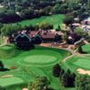 Aerial view from Interlachen Country Club