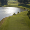 A view from a tee at Deer Lake Golf Club
