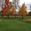 A fall view of a hole at Bolivar Golf Club