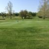 A view of the practice putting green at Bolivar Golf Club