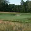 A view of a hole protected by sand traps at Carolina Golf & Country Club