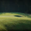 A view of hole #5 protected by bunkers at Palisades Country Club