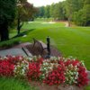 A view from a tee at MacGregor Downs Country Club