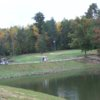 A view over the water from Twin Lakes Golf Course
