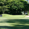 A view of a hole flanked by bunkers at Eastlyn Golf Course