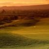 Sunset over Heath Golf Club at Druids Glen Golf Resort