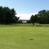 A view of hole #9 at Van Schaick Island Country Club