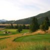 A view from a tee at Canyon River Golf Club