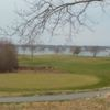 A view of a green at Shennecossett Golf Club
