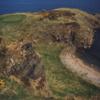 Aerial view from Royal Tarlair Golf Club