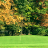 A view of a green at Barney Road Golf Course