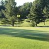 A view of hole #5 at Briar Creek Golf Course